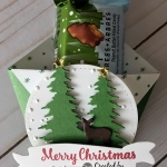 Fancy Fold Diaper Fold using the Carols of Christmas bundle