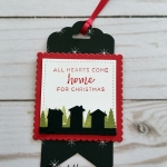 Gift Tag made with the Hearts Come Home Bundle by Stampin