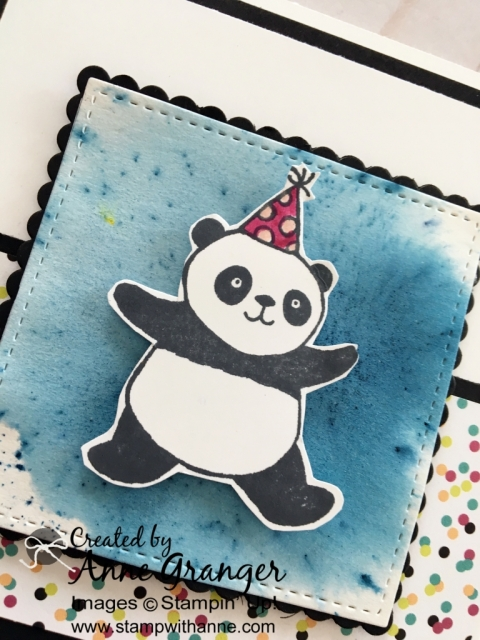 Party Panda's stamp set. You can earn this for FREE with a $60 order!  #stampinup