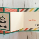 Party Pandas stamp set by Stampin