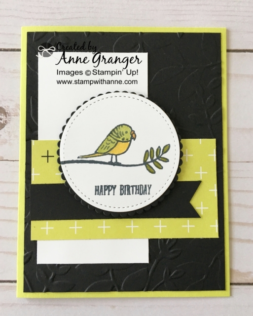 Stampin' Up Bird Banter Stamp set