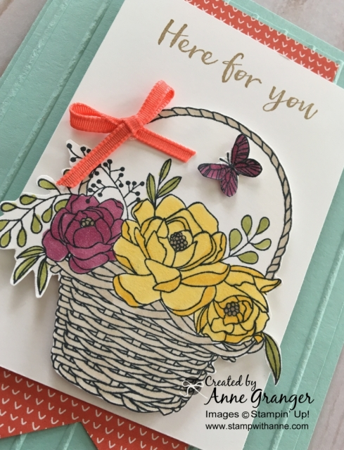 Stampin' Up! Blooming Basket Bundle - You can earn for FREE during Sale a Bration with a $120 order
