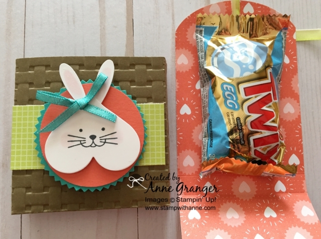 Easter Treat Holder made with the Lots of Love Framelits Dies by Stampin' Up!