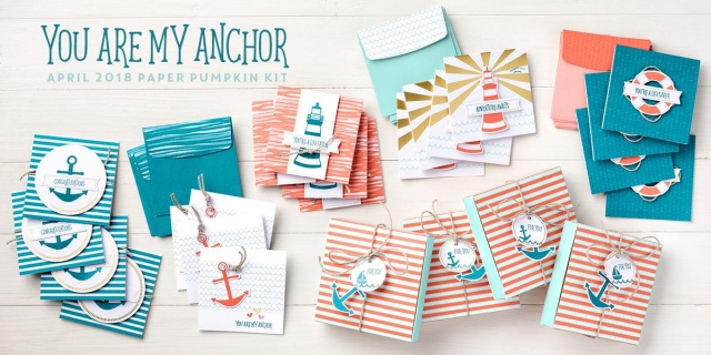 April Paper Pumpkin Kit - You Are My Anchor