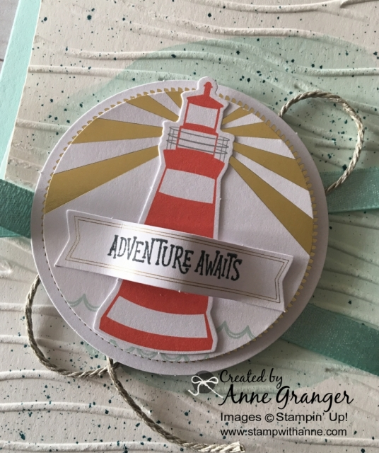 Alternate card created with the You Are MY Anchor Paper Pumpkin Kit