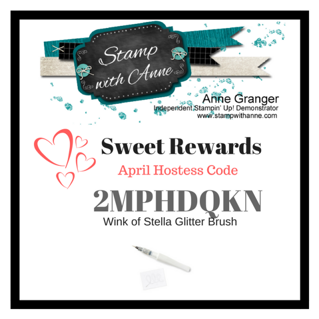 April Sweet Rewards - Receive a FREE Wink of Stella Glitter Pen with every $50 spend using the Hostess Code Provided