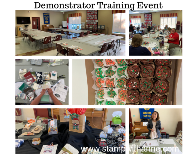 Demonstrator Training Event