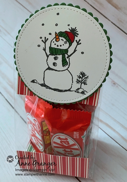 Snowman Treat Packaging